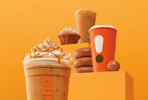 Dunkin Donuts Announces Cinnamon Sugar Pumpkin Latte To Take