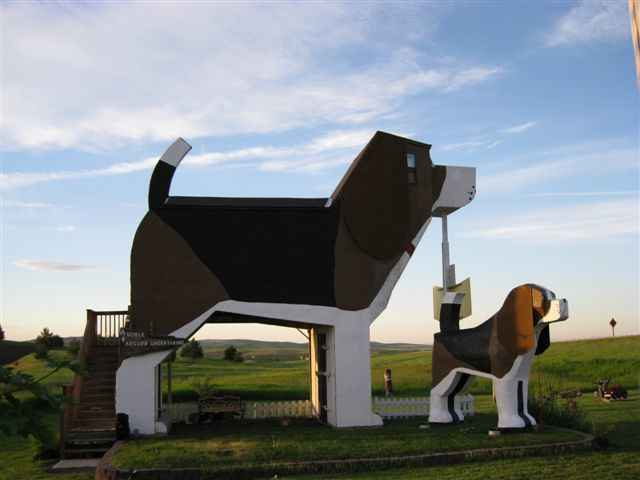 This House is Shaped Like a Beagle & You Can Spend The Night Through Airbnb