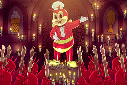 jollibee cult following filipino fast food