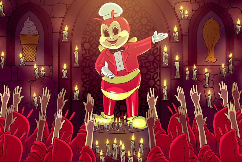 jollibee cult following filipino fast food