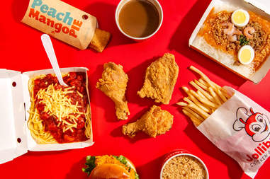jollibee menu items chicken joy spaghetti