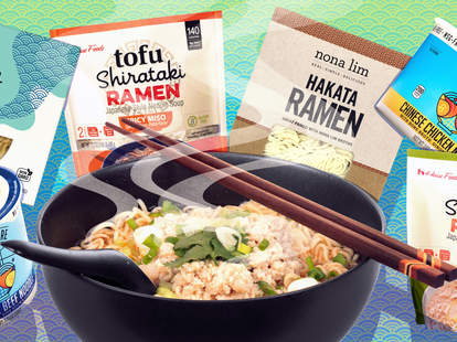 healthy ramen tofu nona lim one culture foods house foods ramens noodles noodle bowl tofu spicy chicken bone broth soup