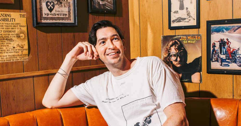 Day-Drinking with Nicholas Braun, the Scene-Stealing Cousin Greg from 'Succession'