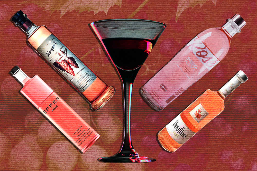 Rosé Vodka is the New Pink Wave -- And It's Actually Pretty Great