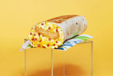 taco bell hashbrown breakfast burrito