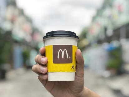mcdonalds mccafe coffee