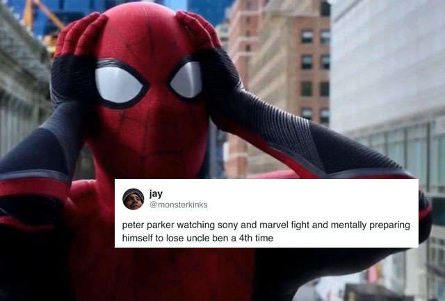 Spider-Man Meme: Fans React to Spider-Man Leaving the MCU