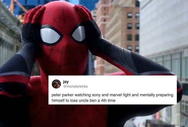 Spider-Man Is Leaving the MCU & Fans Are Using Sad, Hilarious Memes to Cope