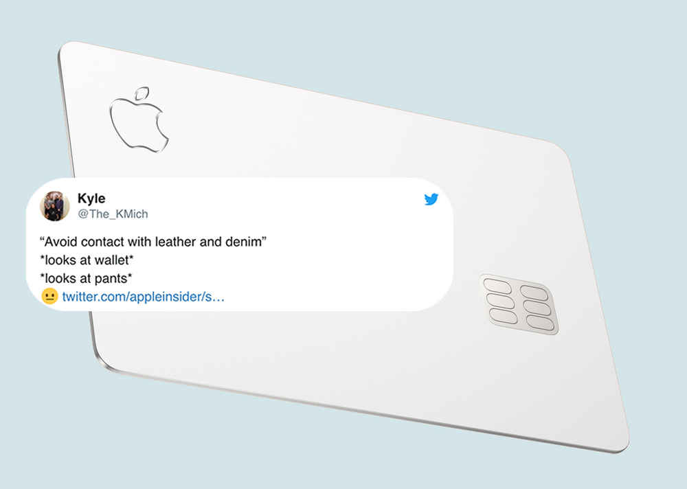 Apple Says Not to Put Its Credit Card Near Leather or Denim & Everyone's Cracking Jokes