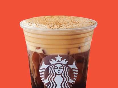 starbucks cold foam pumpkin drink