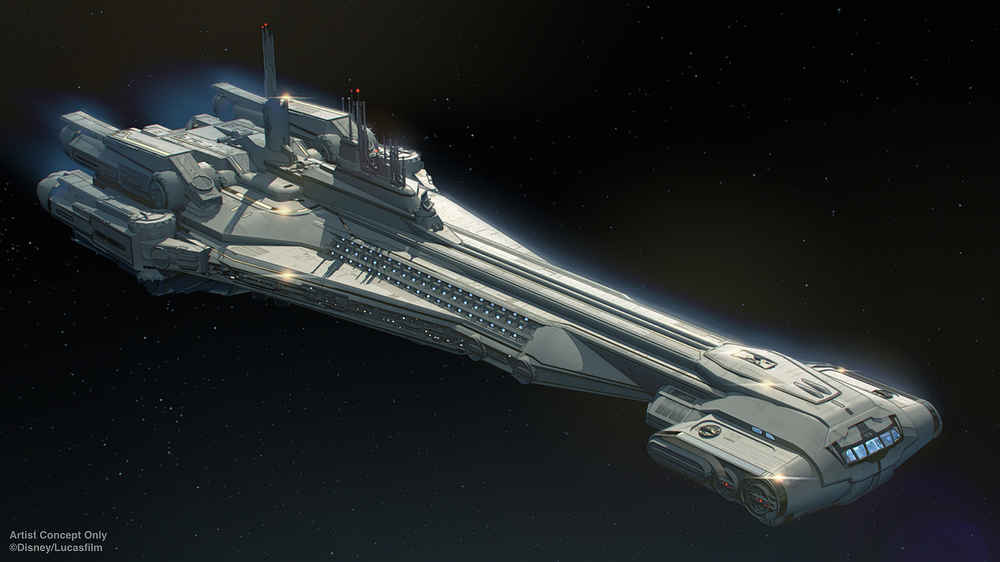 Disney's New 'Star Wars' Hotel Will Feel Like You're on a Starcruiser