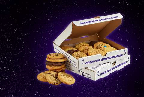 insomnia cookies cookie in space