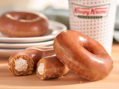 krispy kreme pumpkin donut giveaway