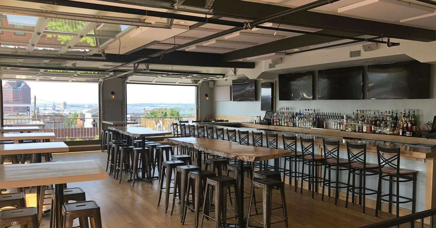 Best Rooftop Bars In Baltimore Good Places To Drink With A View