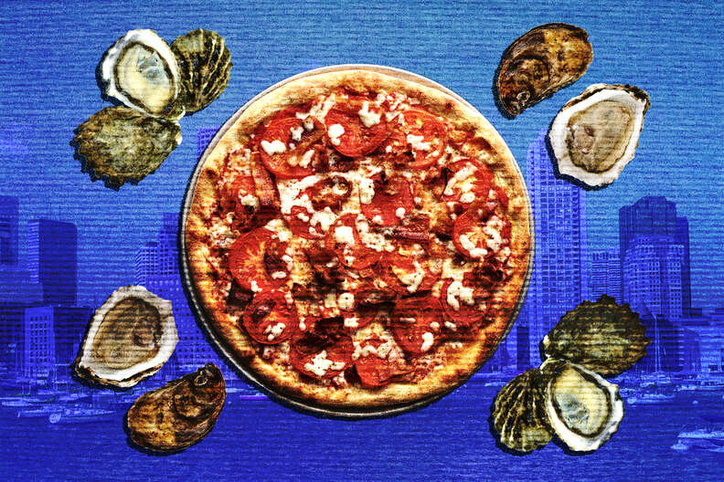 pizza oysters