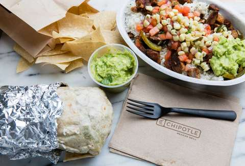 chipotle free lunch promotion deal new year