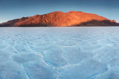 Basins salt flats