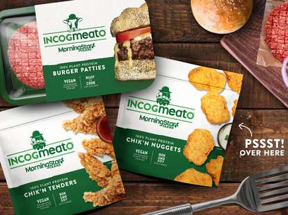 morningstar farms fake meat plant-based vegan