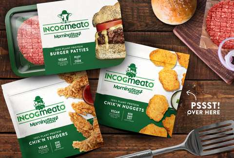 Morningstar Farms' Incogmeato: New Plant-Based Meat