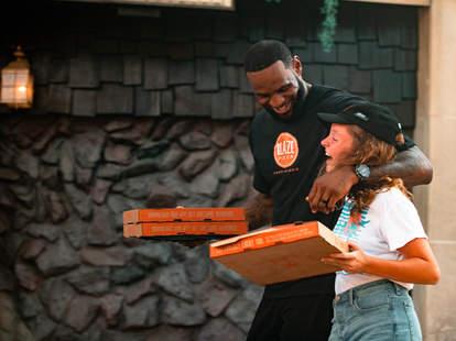 lebron james blaze pizza