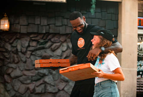 LeBron James' Blaze Pizza Now Offers Delivery Via DoorDash
