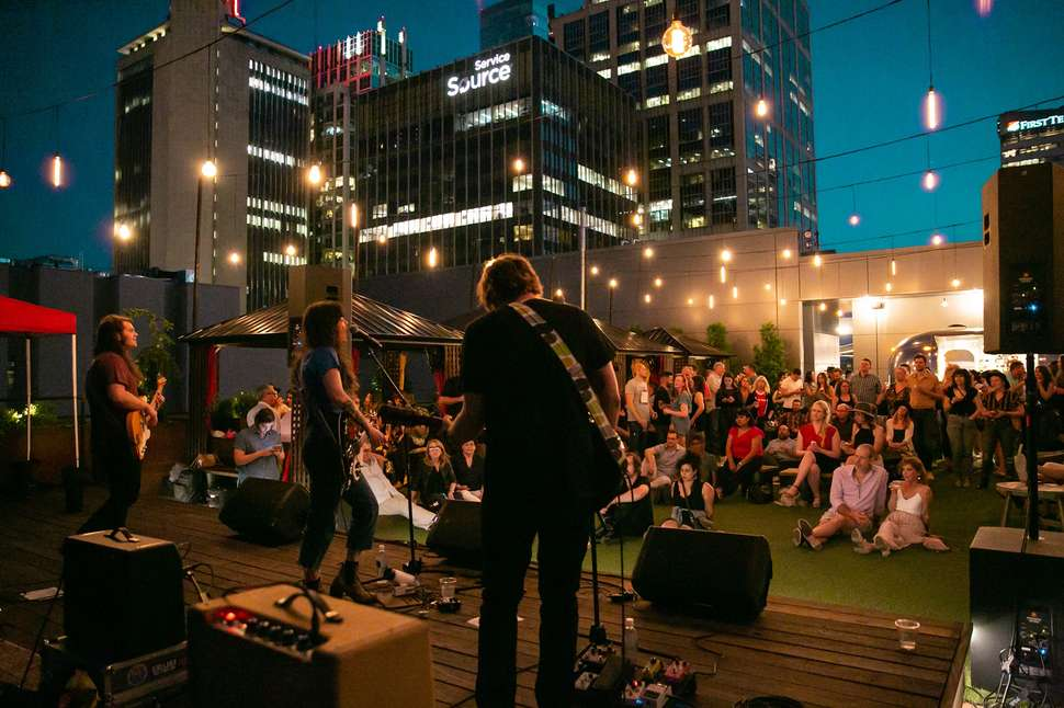 Best Rooftop Bars In Nashville Places To Drink Outside With