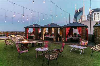 The Rooftop Lounge at Bobby