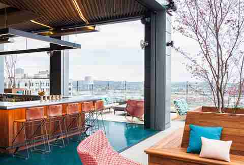 Rare Bird Rooftop Bar at the Noelle