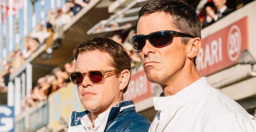 Matt Damon and Christian Bale Make 'Ford v Ferrari' a White-Hot Car-Racing Movie