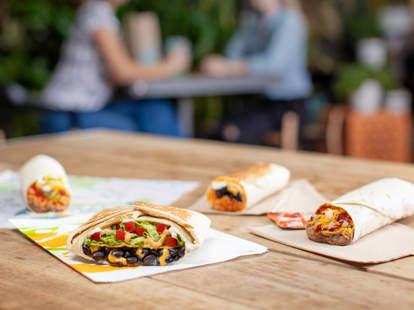 taco bell vegetarian options menu