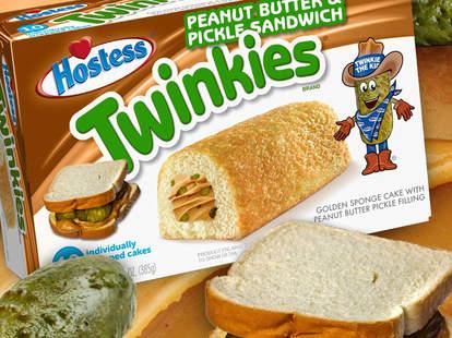 peanut butter pickle twinkie hostess