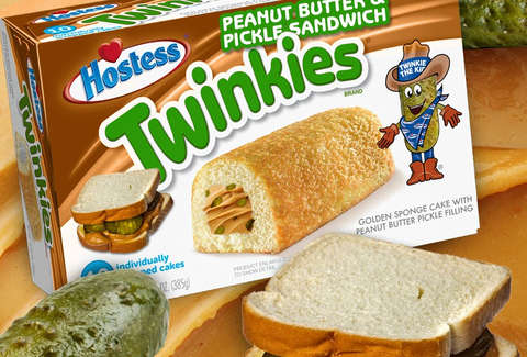 peanut butter pickle twinkie hostess