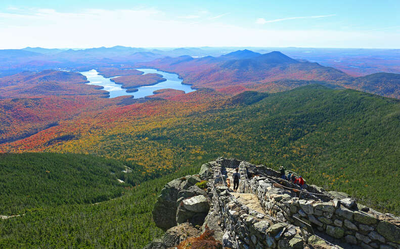 Whiteface Mountain Steps and Lake Placid