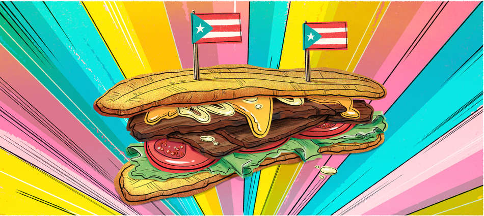 How a Fried Plantain Sandwich Became a Modern American Classic