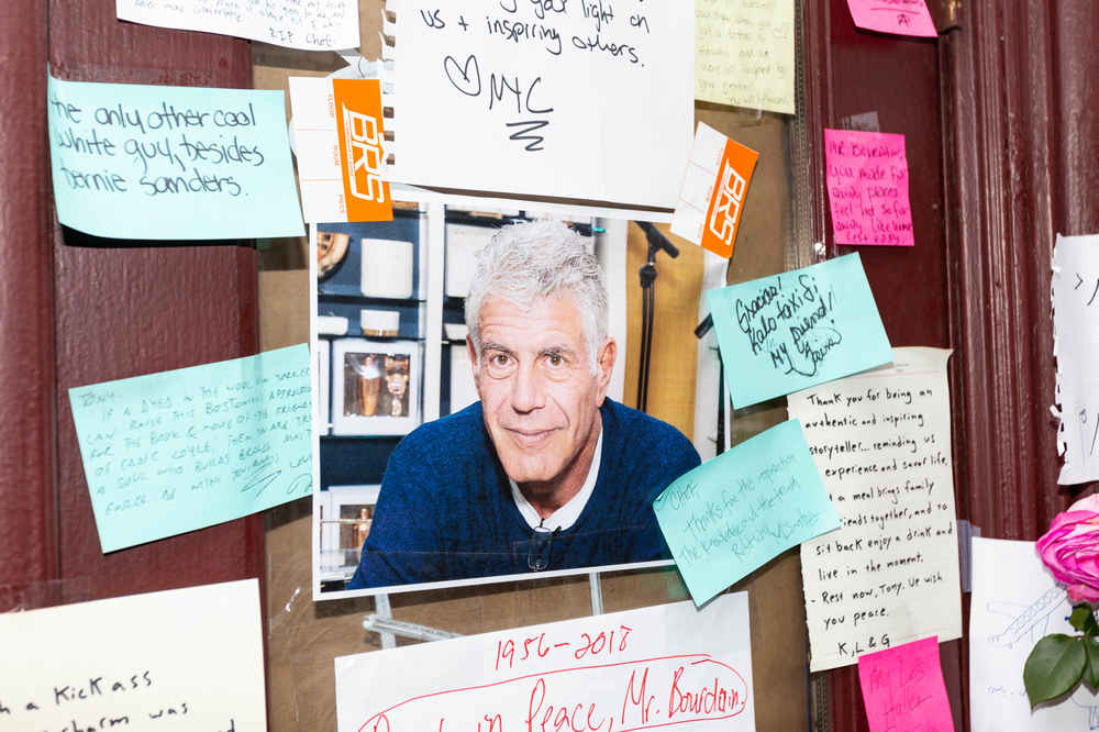 Auction of Anthony Bourdain's Possessions Will Fund Scholarship to Study Abroad