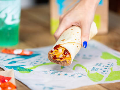free taco bell burrito