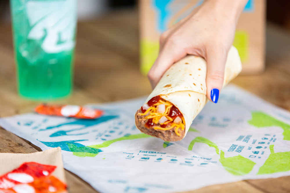 Taco Bell Is Dishing Up Free Burritos For the Next Month
