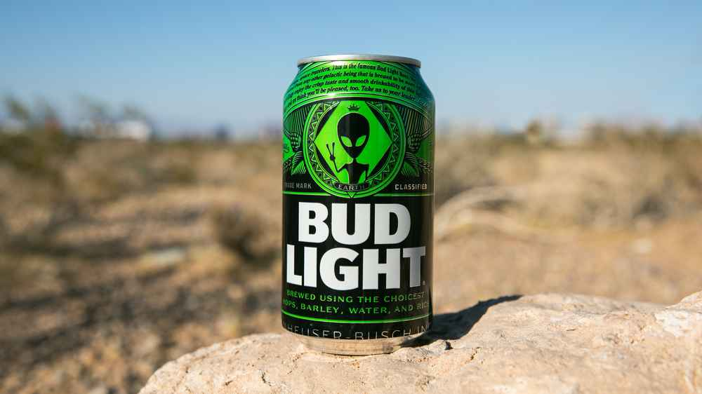 Bud Light Is Making a Beer for Aliens That Escape Area 51