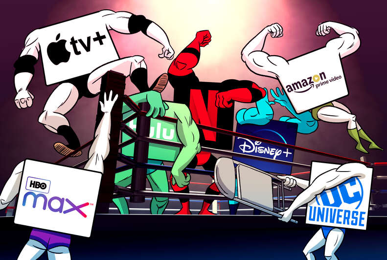 streaming services war