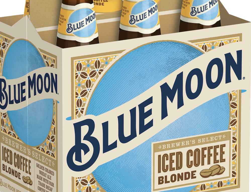 Blue Moon Is Unleashing a New Iced Coffee-Flavored Blonde Beer