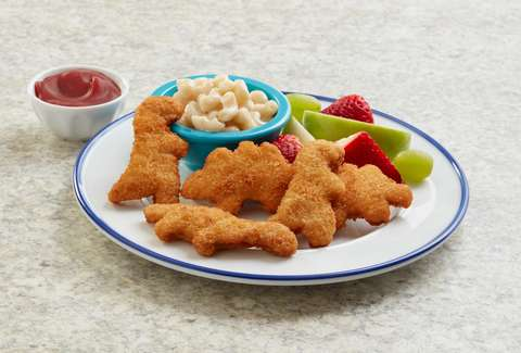 dino chicken nuggets veggie