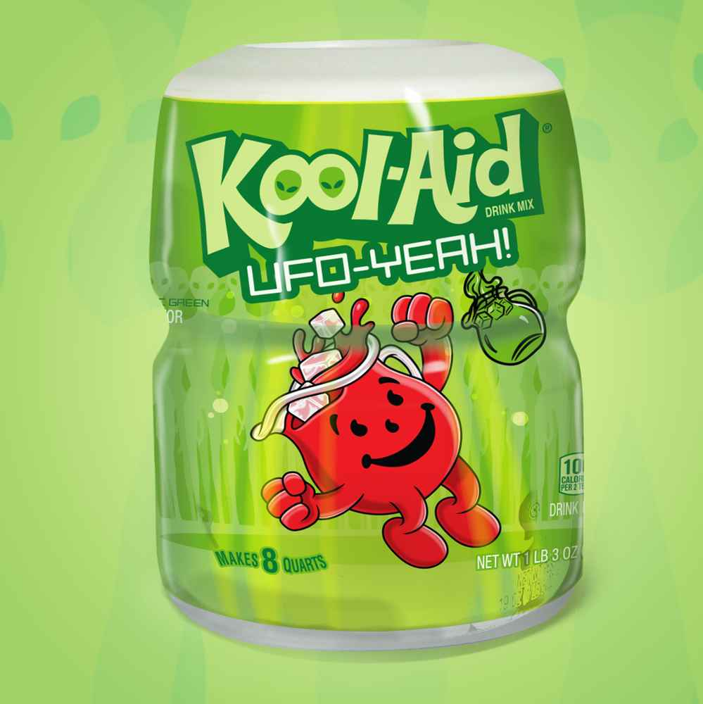 You Can Literally Drink the 'Aliens Are Real' Kool-Aid With New Area 51 Kool-Aid