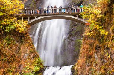 Columbia River Oregon fall colors