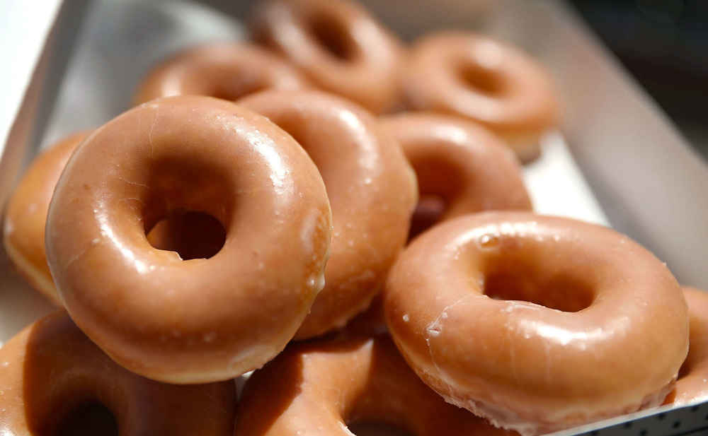 Krispy Kreme Will Give You a Totally Free Donut & Coffee on Sunday