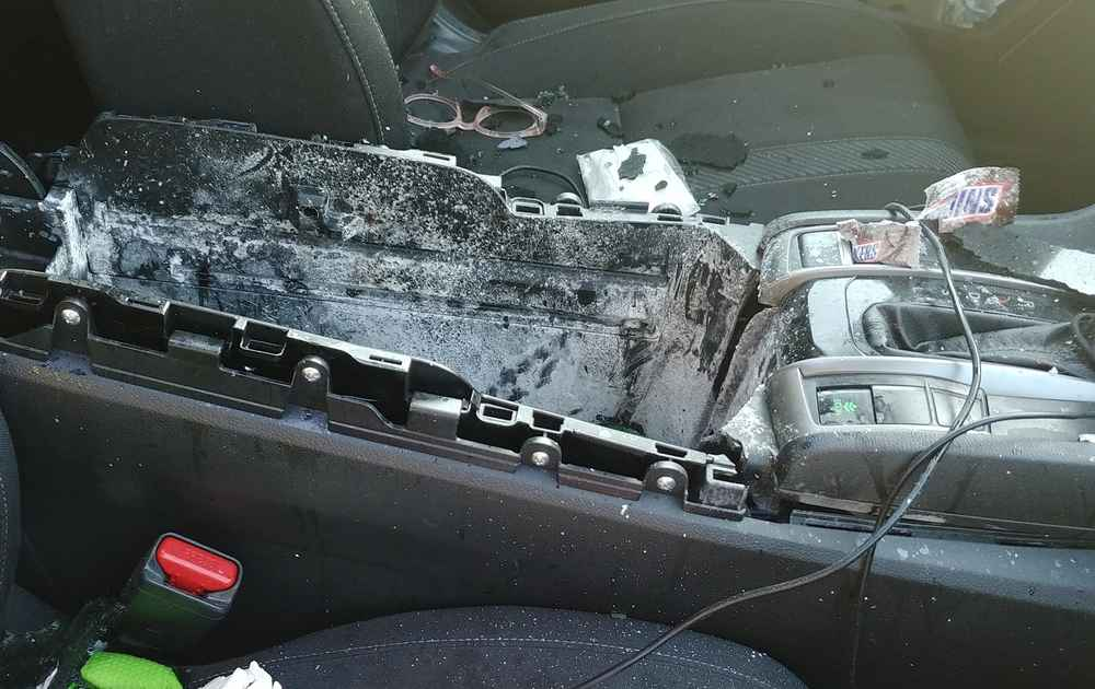Dry Shampoo Can Explodes Through Car Sunroof, Makes Case for Wet Shampoo