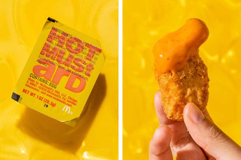 hot mustard mcdonald's dipping sauce