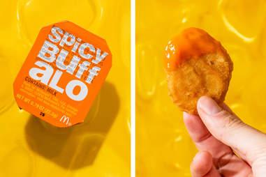 spicy buffalo mcdonald's hot sauce