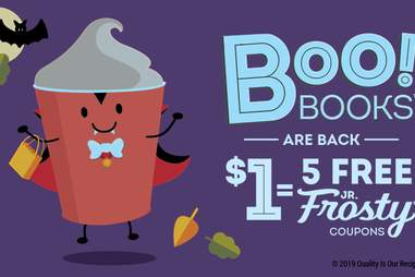 wendy's boo books frosty