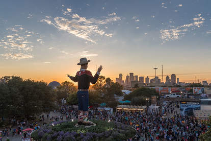 State Fair of Texas aerial view