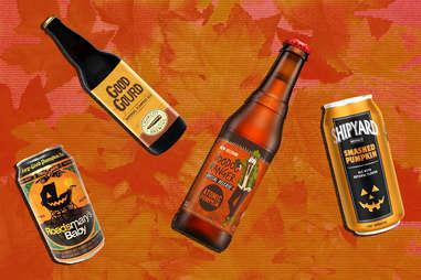 pumpkin beers beer ale good gourd roadsmary's baby voodoo shipyard smashed pumpkins seasonal fall